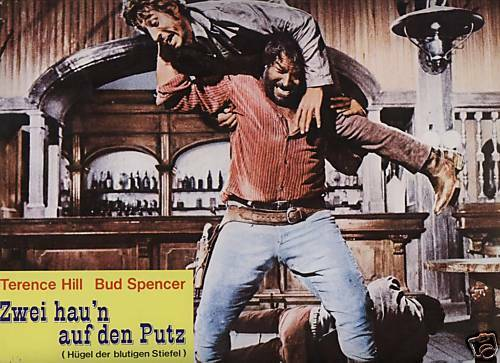af zwei hau n auf den putz bud spencer terence hill g 40386371688206 ebay. Black Bedroom Furniture Sets. Home Design Ideas