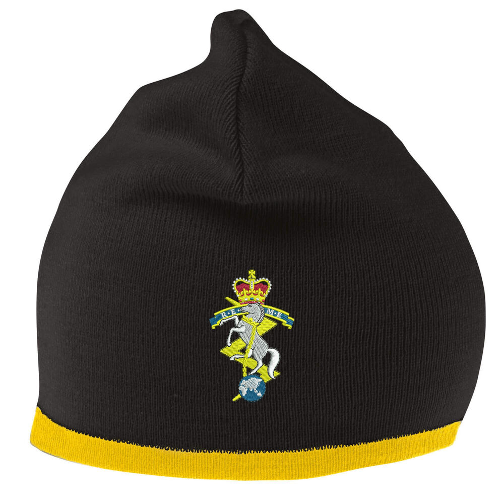378eef0c61d R.E.M.E Beanie Hat with Embroidered Logo