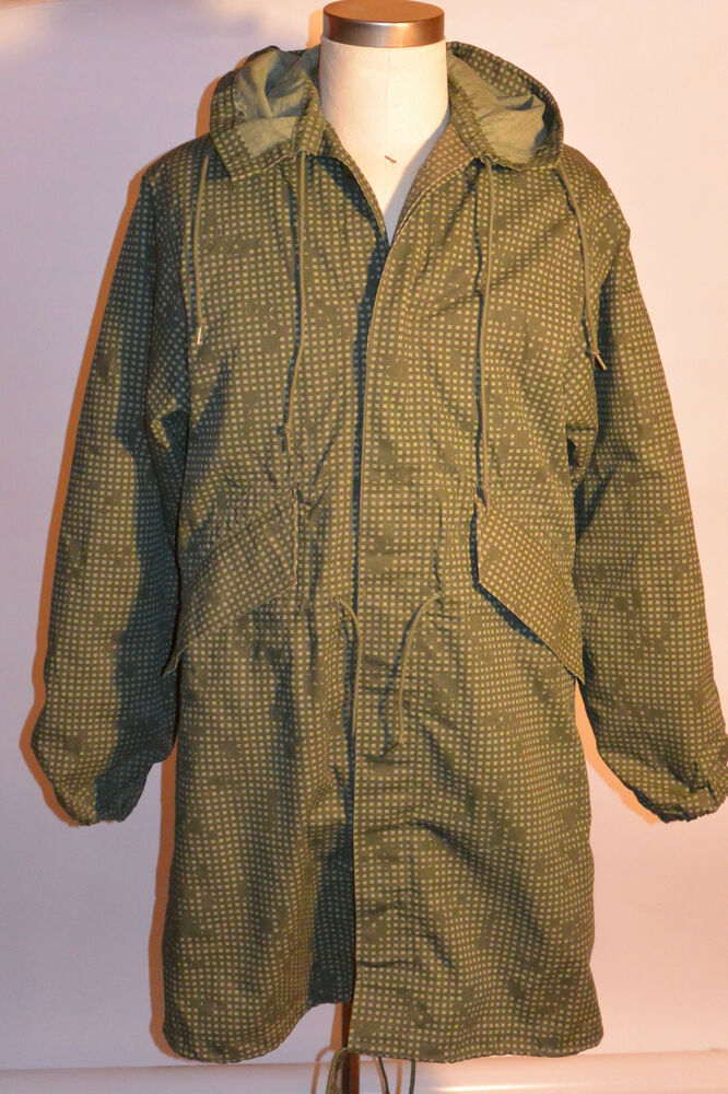 Us Army 1984 Night Desert Camouflage Parka With Insulated