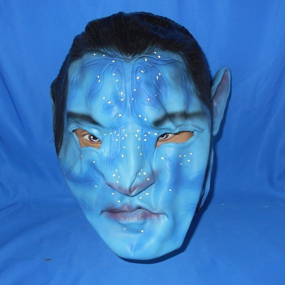 Avatar Jake: AVATAR JAKE SULLY BLUE RUBBER HALLOWEEN CHARACTER MASK