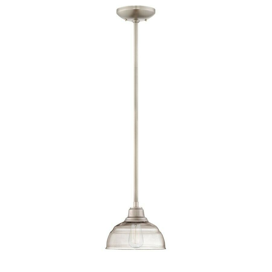 millennium lighting neo industrial mini pendant brushed nickel 5300. Black Bedroom Furniture Sets. Home Design Ideas