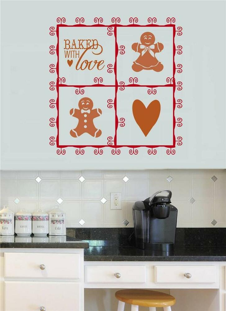 Kitchen Words Wall Stickers