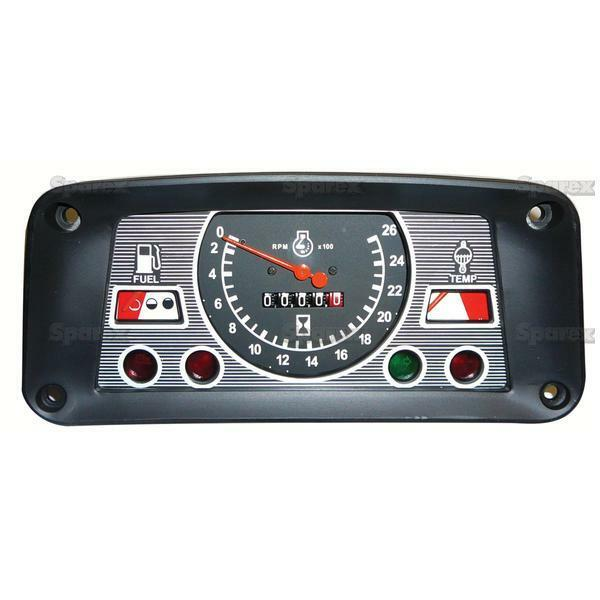 Industrial Instrument Panel : New ford tractor instrument gauge cluster e nn ba ebay