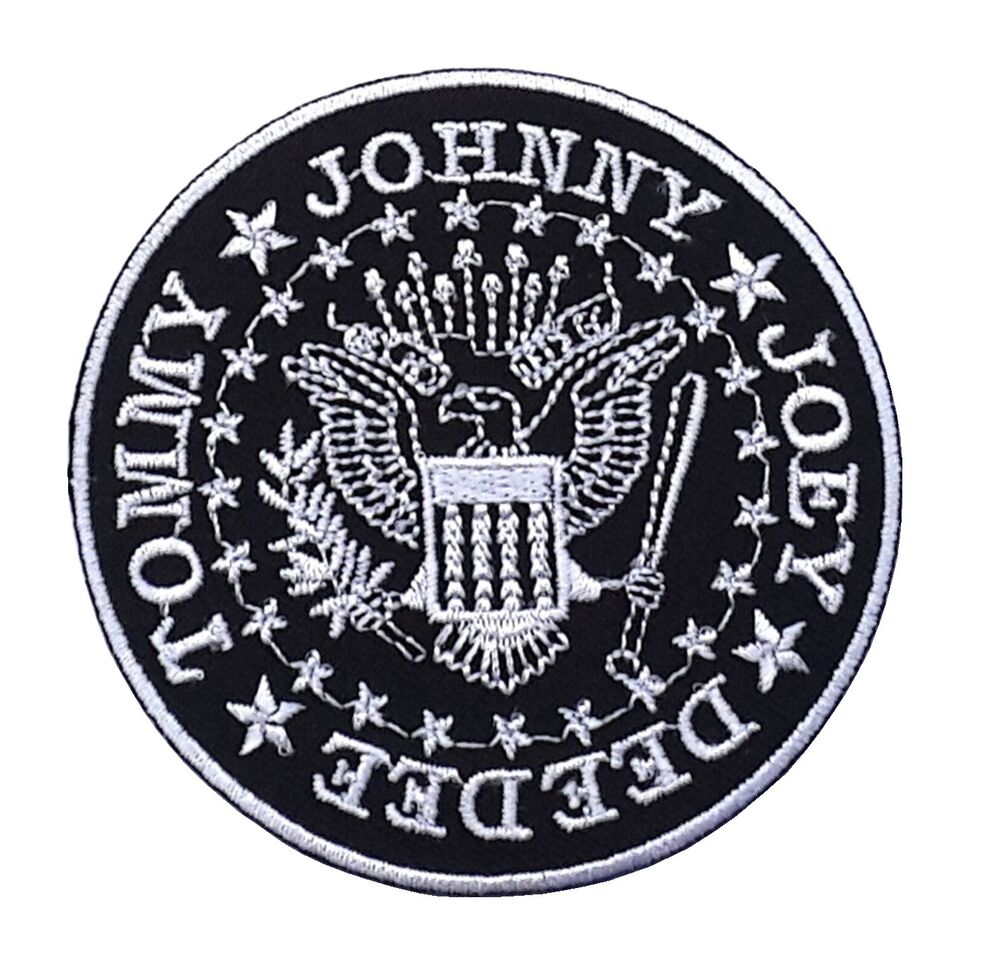 New ramones patches embroidered punk rock music band