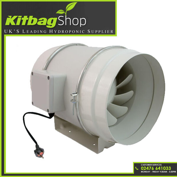 In Line Extractor Fans For Bathrooms: High Power In Line Loft Mounted Bathroom Extractor Fan