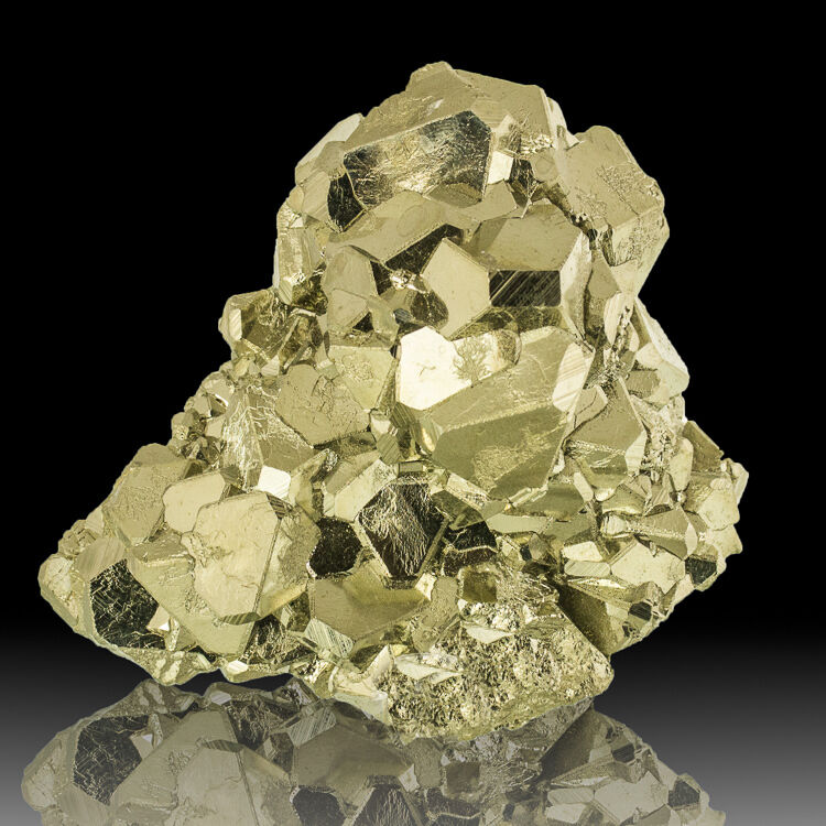 """3.5"""" Sharp Modified Octahedral PYRITE Crystals ..."""