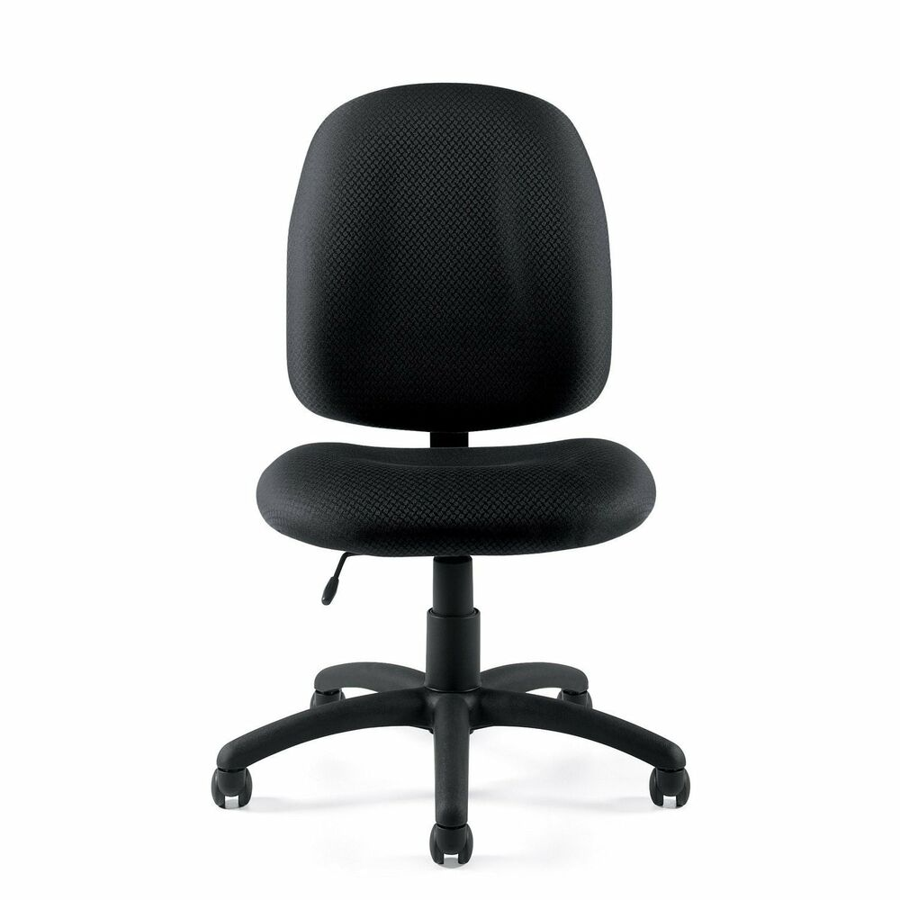 armless office chair quot 11650 quot computer desk chair ebay 87718