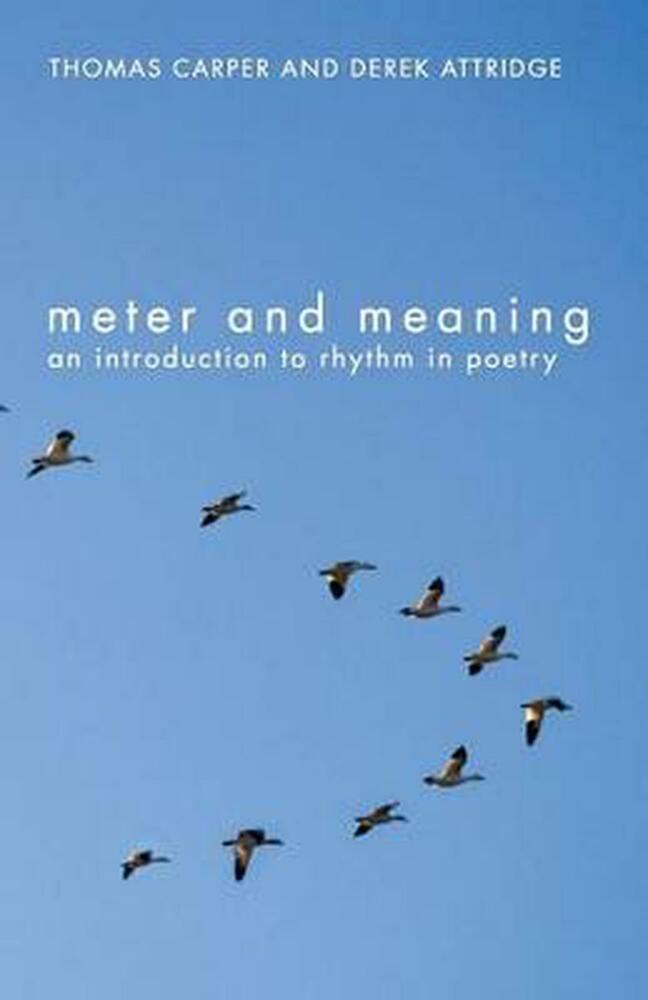 meter and meaning an introduction to rhythm in poetry by thomas carper paperbac 415311756 ebay. Black Bedroom Furniture Sets. Home Design Ideas