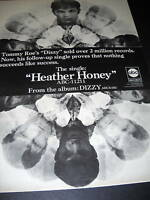 TOMMY ROE 1969 Promo Poster Ad HEATHER HONEY mint cond