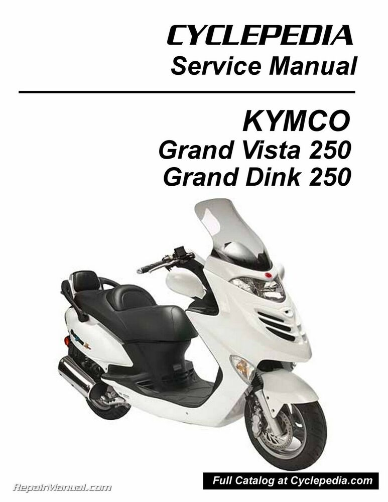 kymco grand vista 250 service manual printed by cyclepedia. Black Bedroom Furniture Sets. Home Design Ideas
