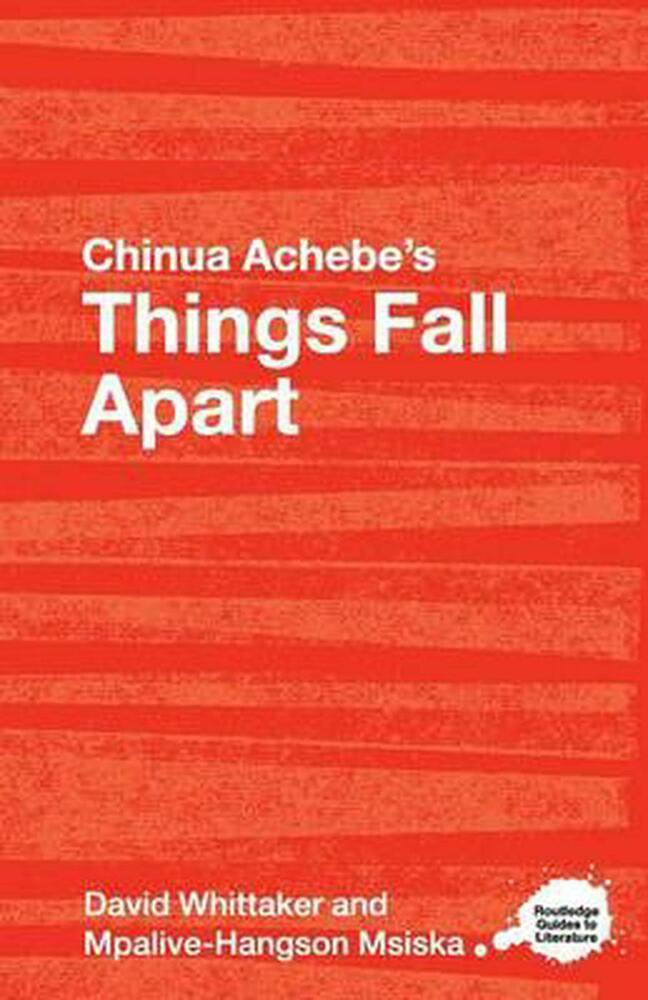 an analysis of the themes in things fall apart by chinua achebe Chinua achebe (/ ˈ tʃ ɪ n w ɑː ə ˈ tʃ ɛ b ɛ /, born albert chinụalụmọgụ achebe (16 november 1930 – 21 march 2013) was a nigerian novelist, poet, professor, and critic his first novel things fall apart (1958), often considered his best, is the most widely read book in modern african literature he won the man booker international prize in 2007.