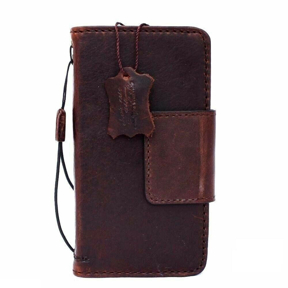 genuine leather case for LG Nexus 5 book wallet handmade ...