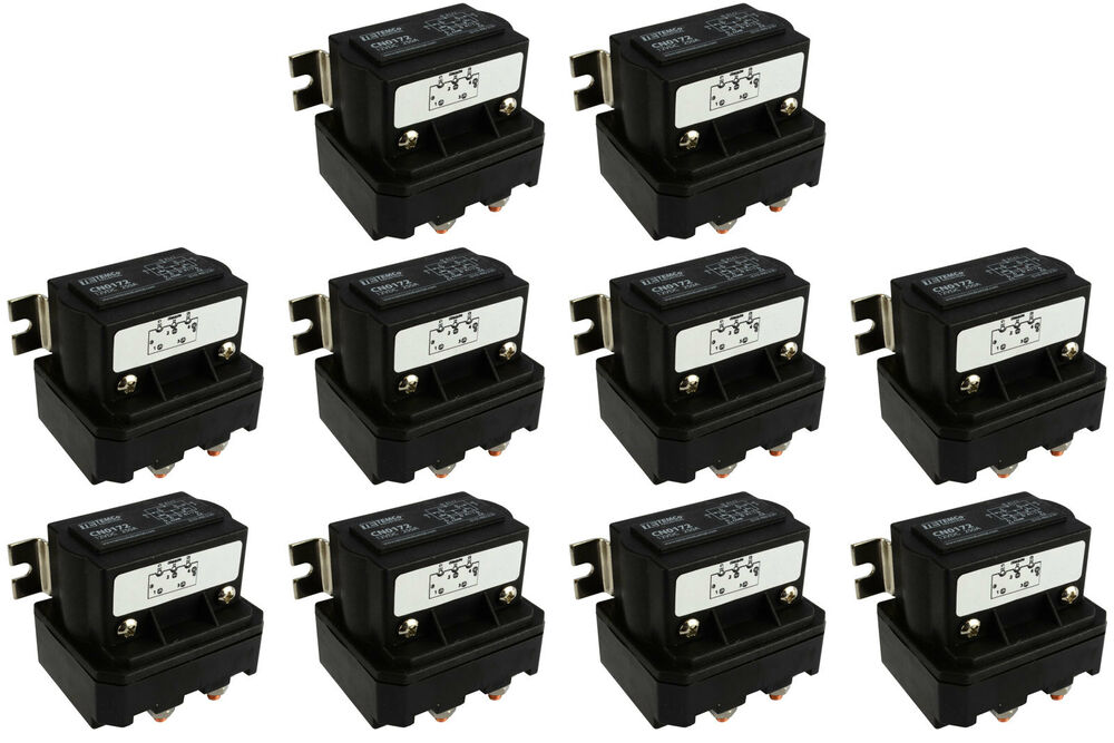10x temco 250a dc winch motor reversing solenoid relay. Black Bedroom Furniture Sets. Home Design Ideas