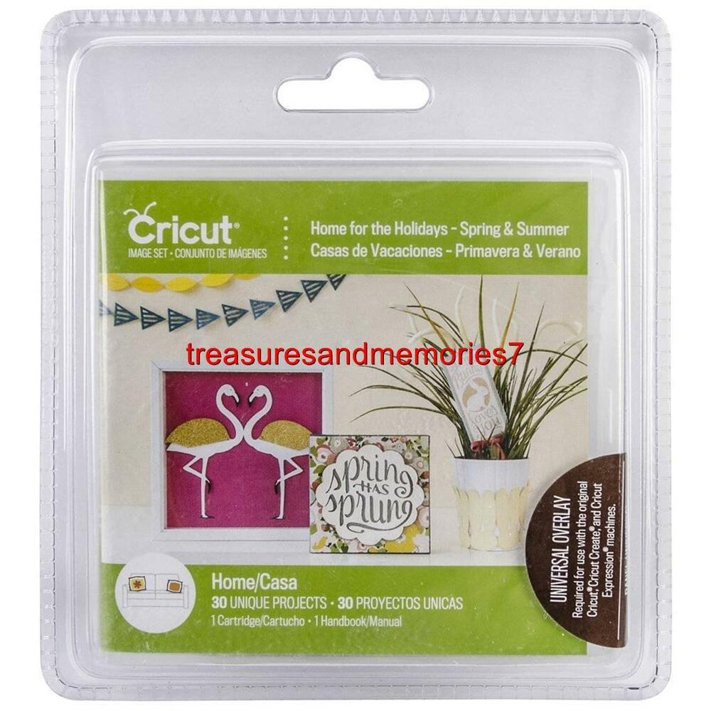 Cricut craft home for the holidays cartridge handbook 30 for Cricut crafts to sell