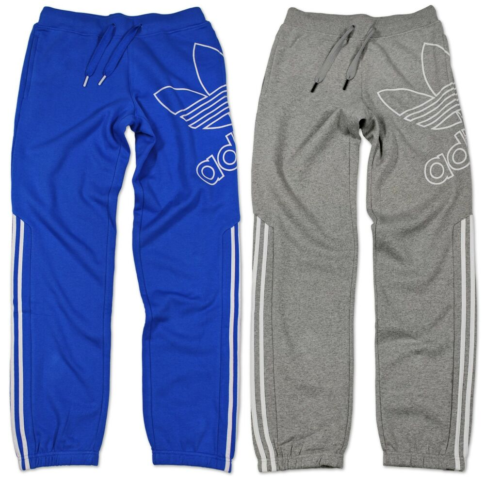 adidas originals jogginghose herren adidas originals trefoil blau grau rot herren fleece. Black Bedroom Furniture Sets. Home Design Ideas