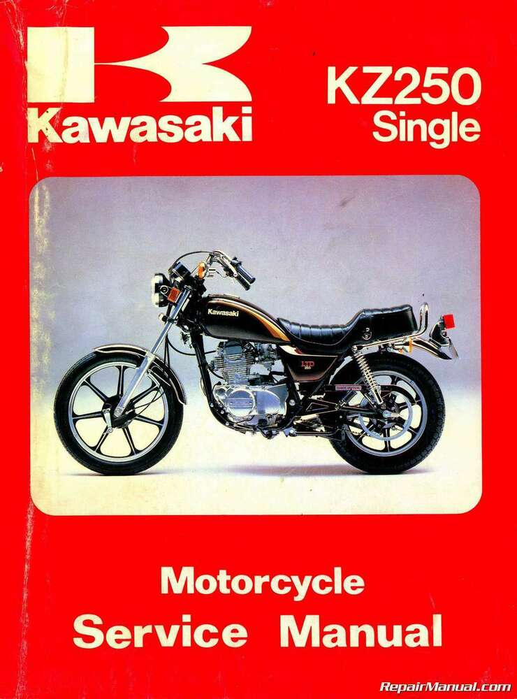 Kawasaki Motorcycle Repair Manuals