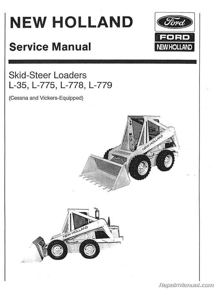 New Holland 865 Repair manual