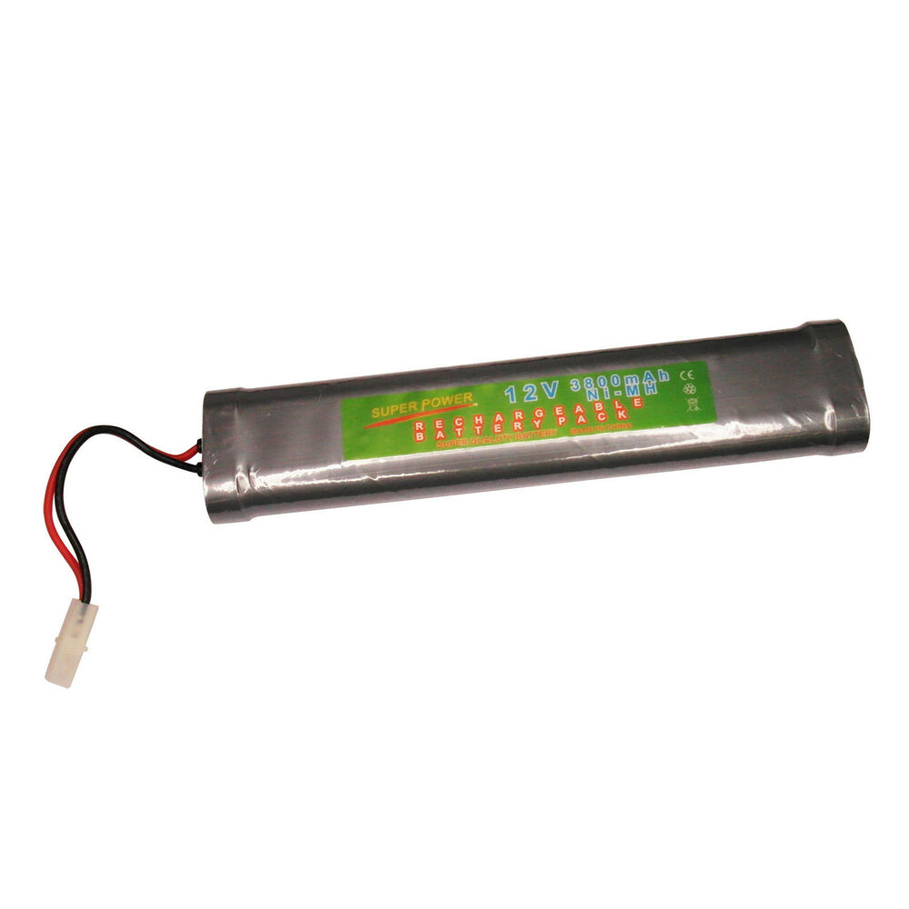 1x 12v 3800mah ni mh rechargeable battery pack rc super powers ebay. Black Bedroom Furniture Sets. Home Design Ideas