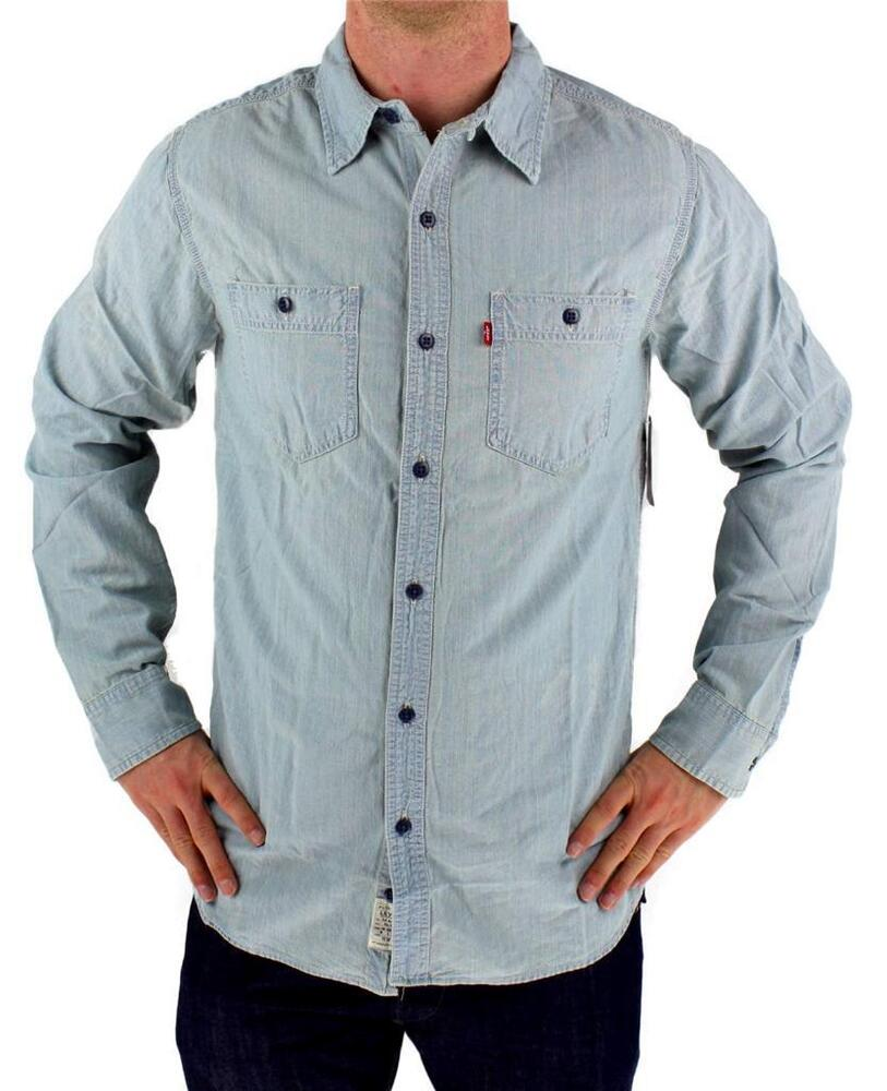 New Nwt Levi 39 S Men 39 S Long Sleeve Button Up Casual Dress