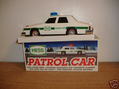 hess patrol car 1993 edition mint with box ebay. Black Bedroom Furniture Sets. Home Design Ideas