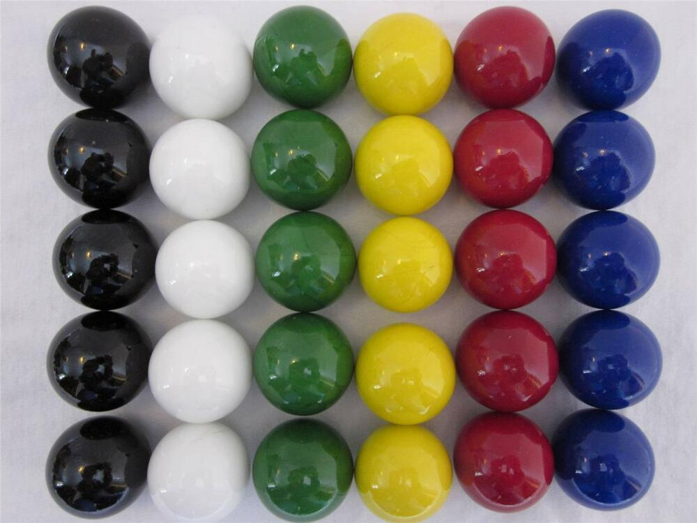 Glass Marbles Game : Large quot replacement marbles wahoo aggravation board