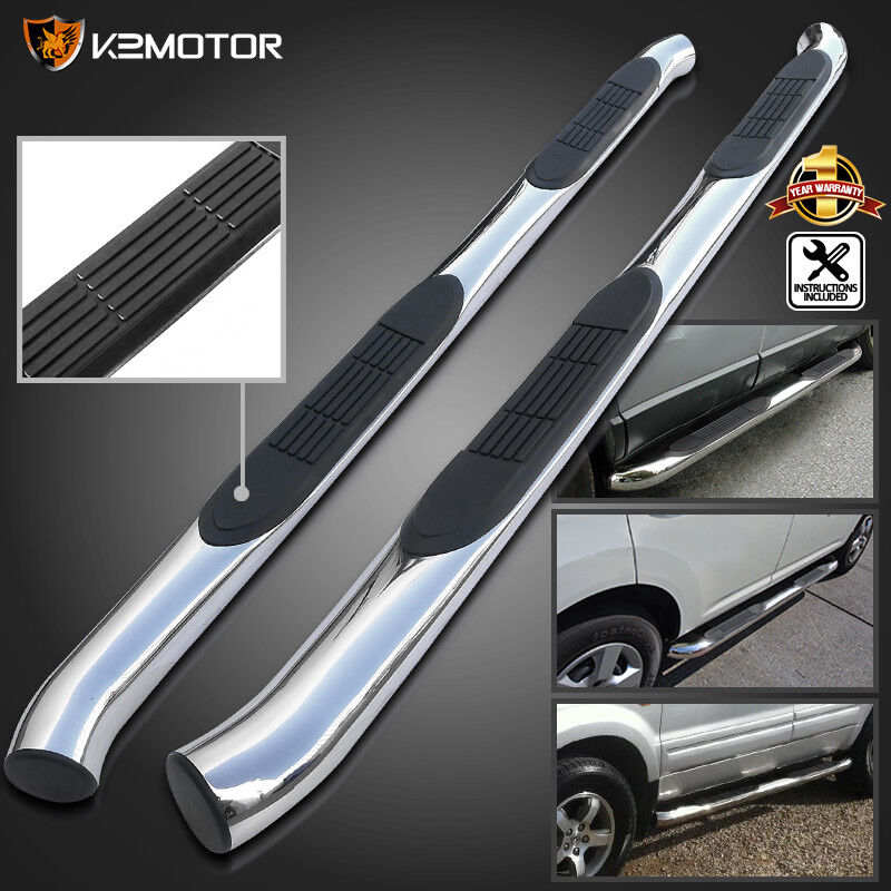 "Acura Mdx 08: Fit 2001-2006 Acura MDX 3"" Side Step Nerf Bars 03-08 Pilot"