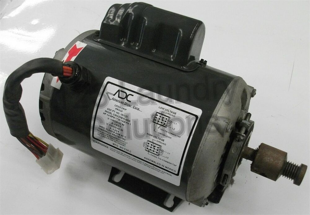 Maytag adc stack dryer sl31 drive dr motor 1 4 hp 1725 for 1 4 hp 1725 rpm motor