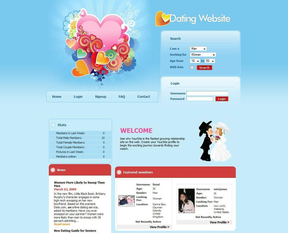 dating sites for business