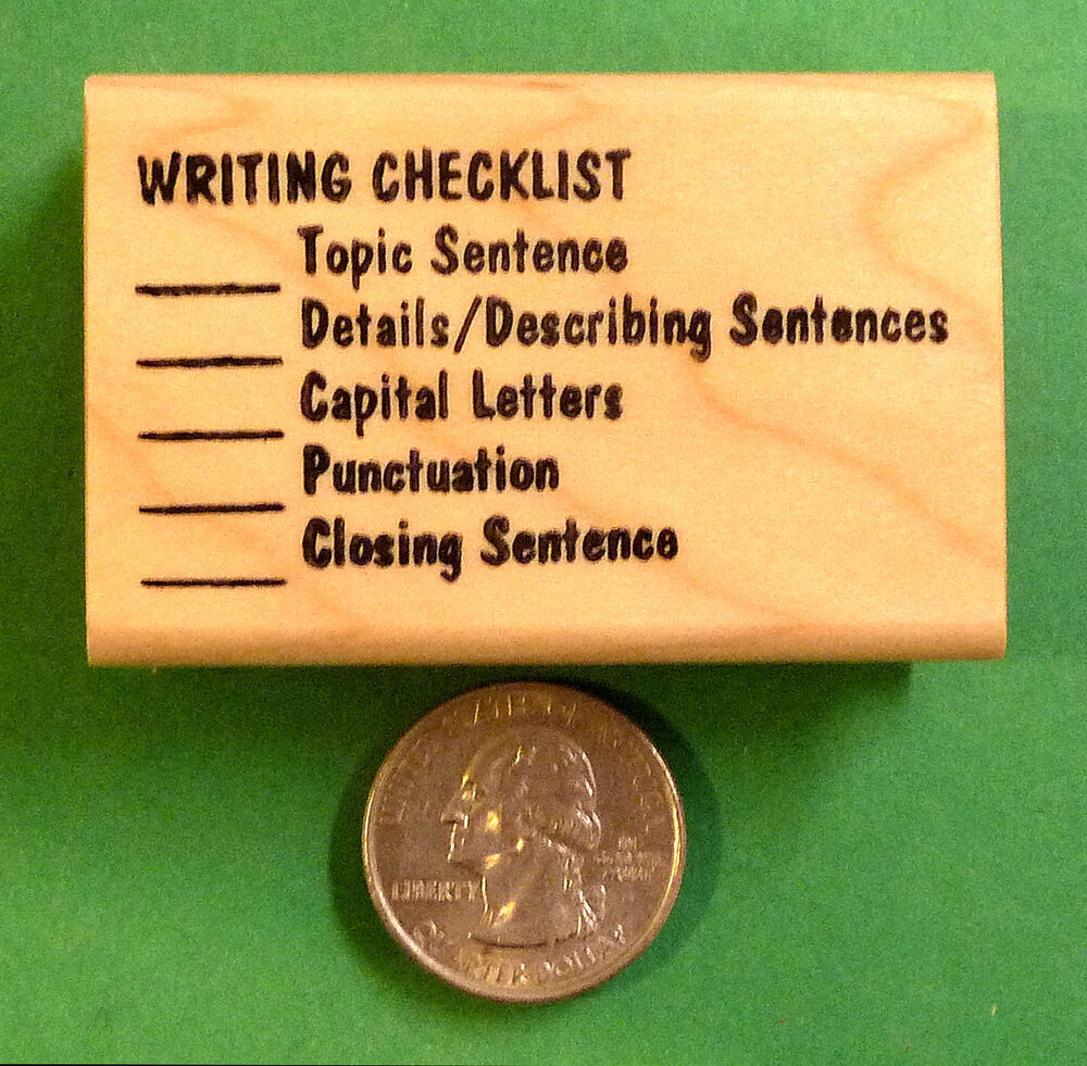 Rubber stamps for teachers writing and reading