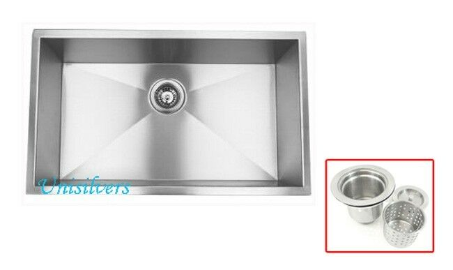 10 inch deep stainless steel kitchen sink 32 quot 16 undermount stainless steel kitchen sink 9679