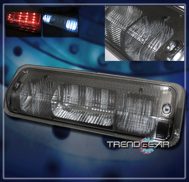 2008 ford f150 pickup truck led third brake tail light smoke 2005 2006. Black Bedroom Furniture Sets. Home Design Ideas