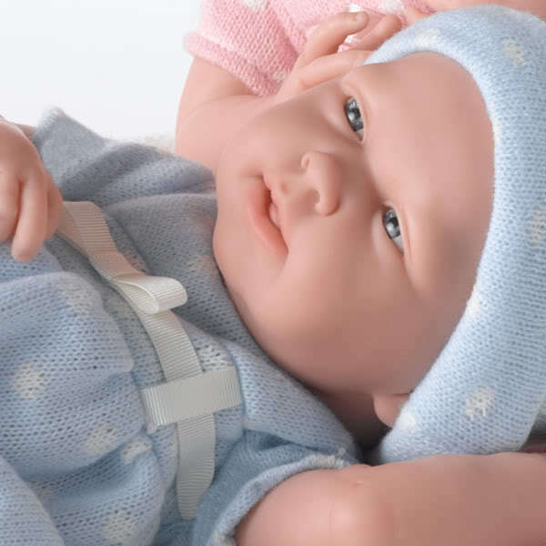 Berenguer La Newborn Real Boy Baby Doll Made In