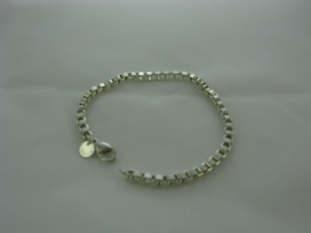 Sterling Silver Authentic Tiffany Amp Co Link Bracelet
