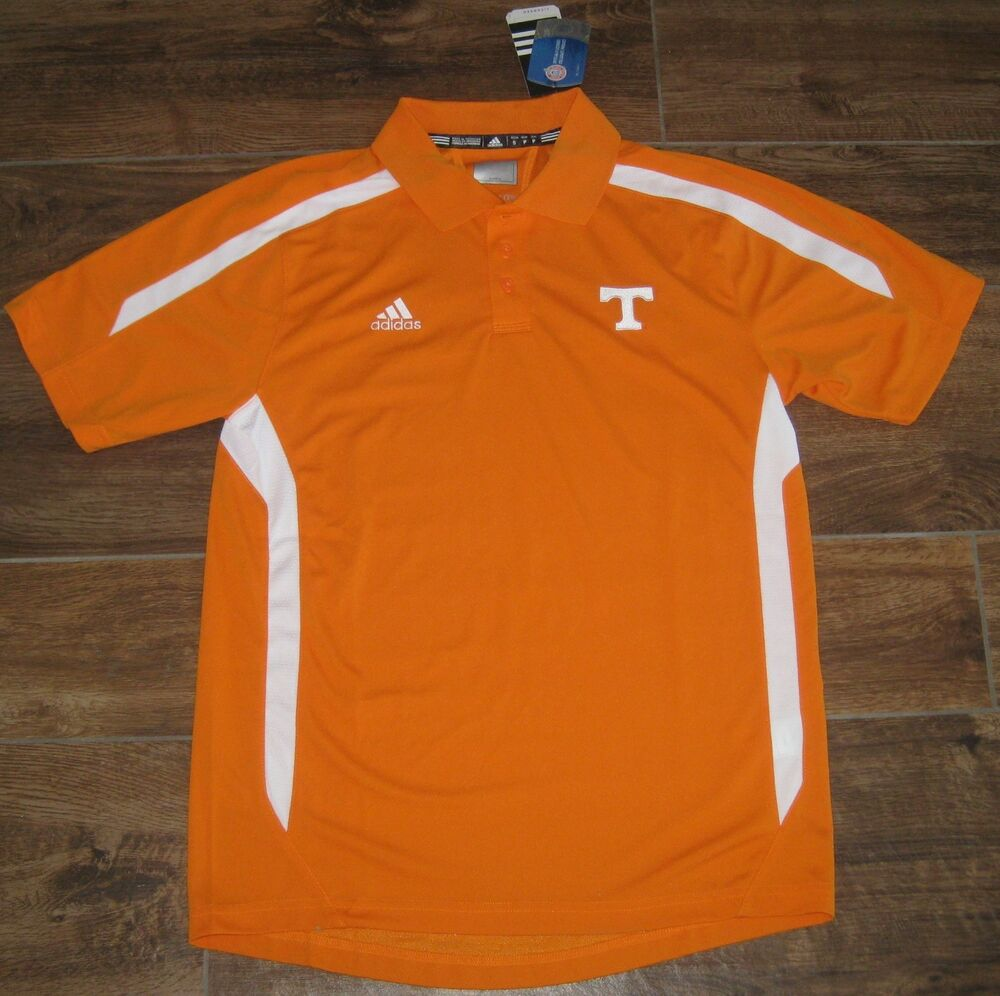 Adidas tennessee volunteers climalite coaches sideline for Soccer coach polo shirt