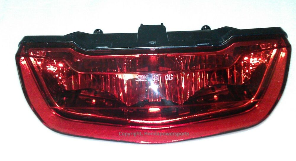 New 2009 2010 2011 2012 2013 Honda Trx420 Rancher Taillight Tail Light Brake Ebay