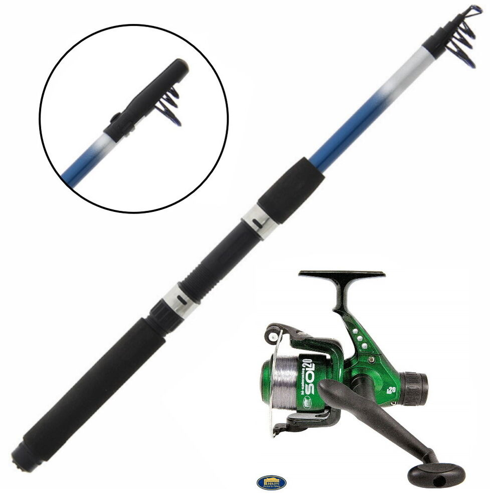 6ft telescopic fishing travel rod and reel with lures for for Fishing rods and reels