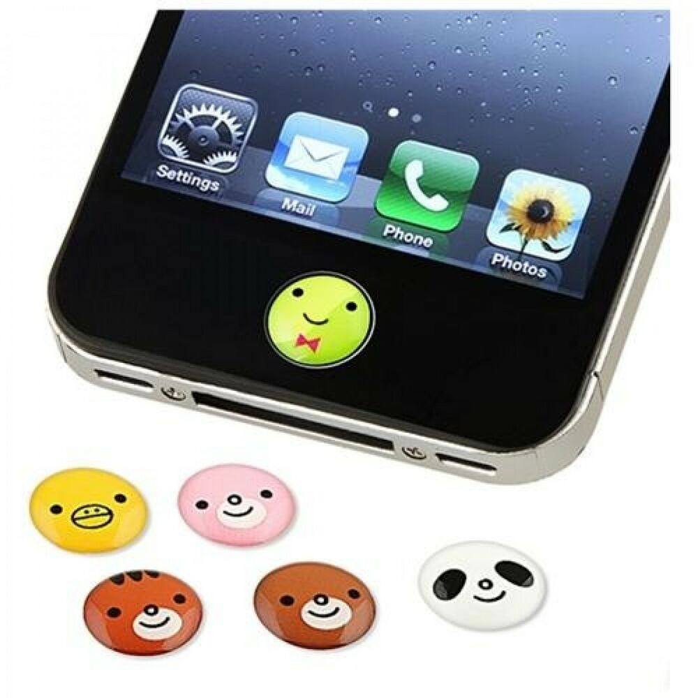 iphone button stickers lot home button sticker for blackberry htc iphone 5 11667