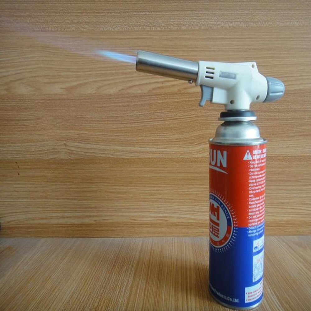 how to use a gas torch