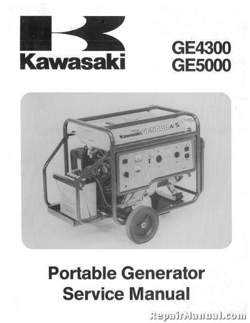 Kawasaki Portable Generator For Sale