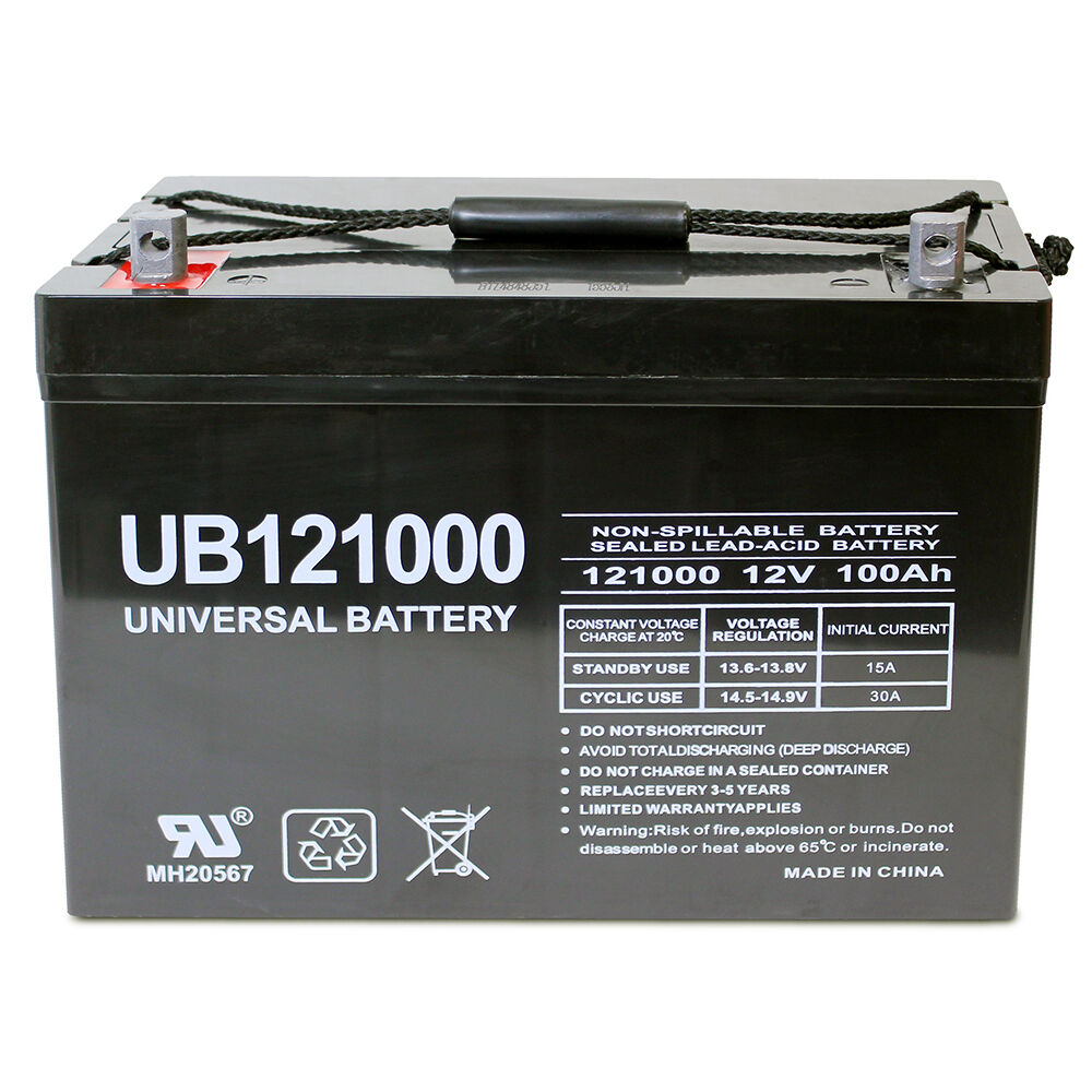 s l1000 deep cycle battery ebay 24V Transformer Wiring Diagram at mifinder.co