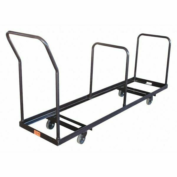Folding Chair Dolly 1000 Lb Load Capacity Holds 35 Chairs DY35 EBay