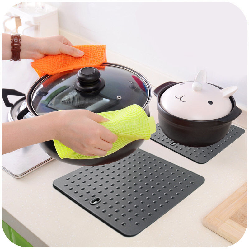 Non Stick Silicone Dots Pan Hot Pads Baking Pastry Cooking