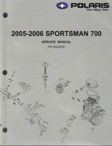 2005 2006 polaris sportsman 700 service repair manual. Black Bedroom Furniture Sets. Home Design Ideas