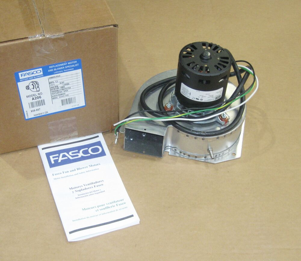 Fasco Furnace Inducer Motor A206 For Lennox 7021 8473 7021