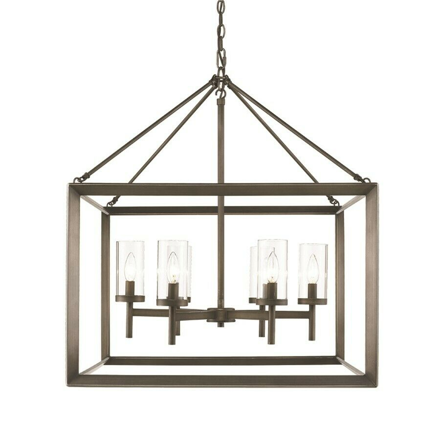 Golden Lighting Olympia Chandelier Gunmetal Bronze 2073 6GMT EBay