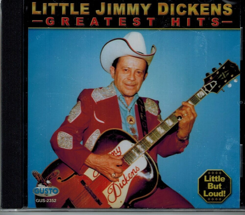 little jimmy dickens greatest hits new sealed cd. Black Bedroom Furniture Sets. Home Design Ideas