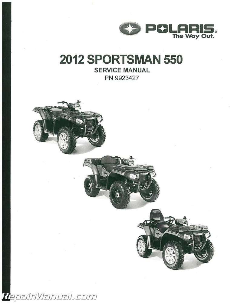 2012 polaris sportsman 550 eps 550 touring eps 550 x2 550. Black Bedroom Furniture Sets. Home Design Ideas