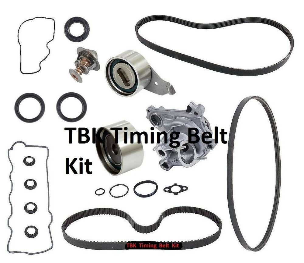 toyota camry timing belt kit complete with water pump fits