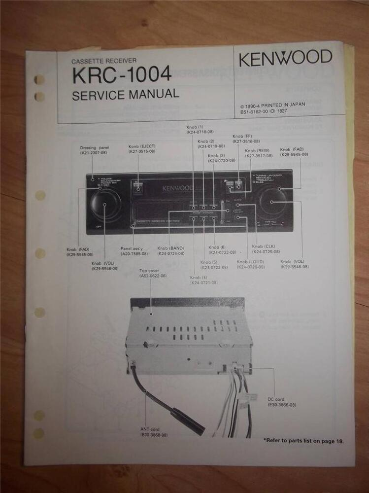 Kenwood User Manuals