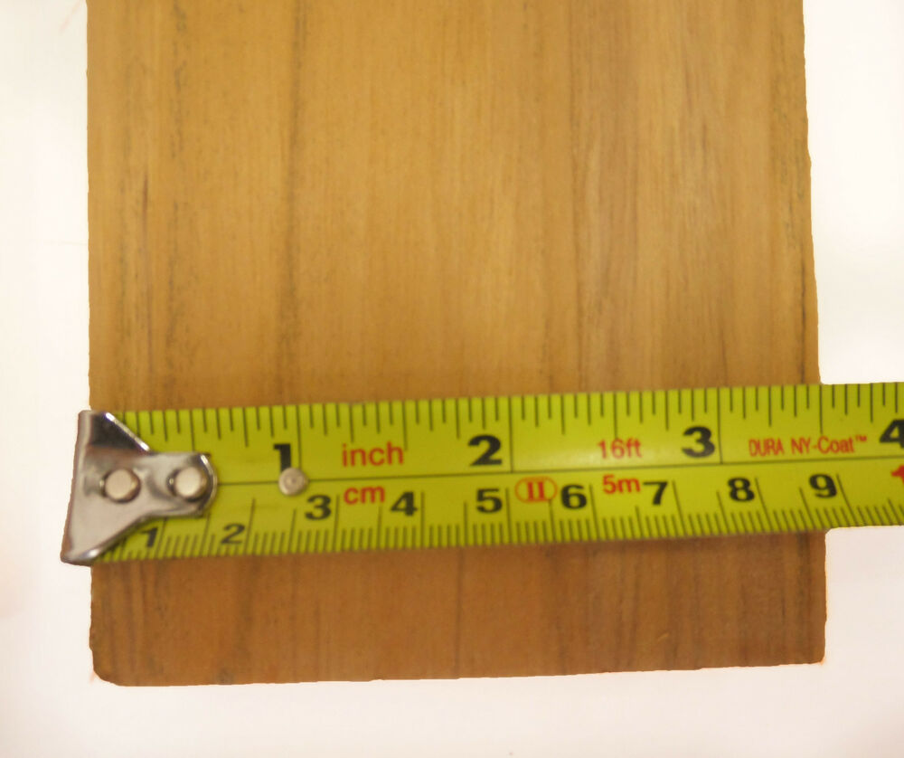 Inch long sanded teak wood for benches